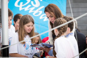 HRH Duchess of Cambridge Attend Roadshow